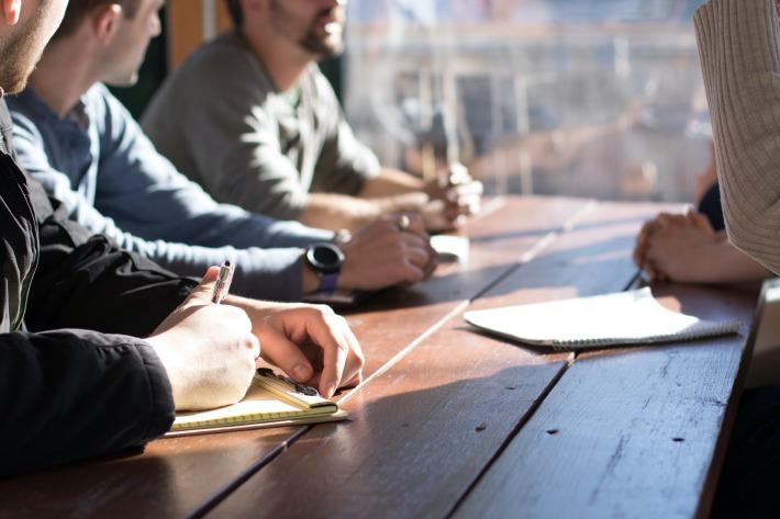 Marketing plan meeting