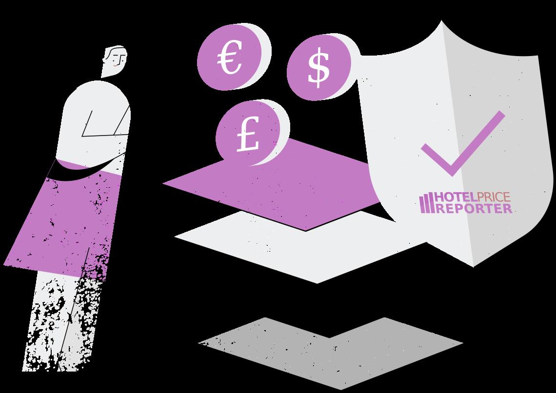 Hotel rate monitoring illustration